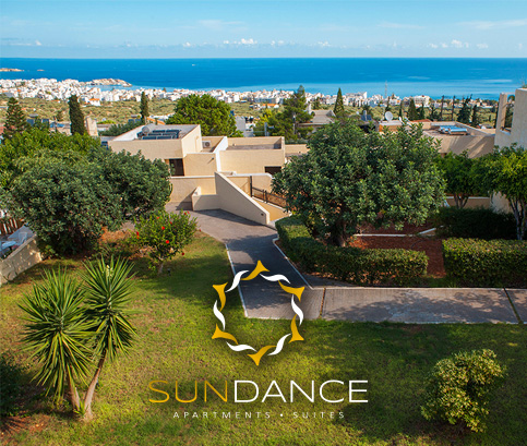 Sundance Apartments & Suites in Hersonissos, Crete | Contact